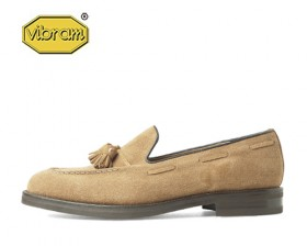 AMERICAN COW SUEDE TASSEL LOAFERS