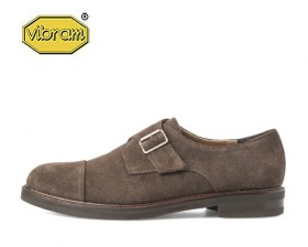AMERICAN COW SUEDE MONK STRAP