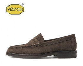 AMERICAN COW SUEDE PENNY LOAFERS