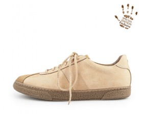 REAL LEATHER VINTAGE LOW TOP-Born
