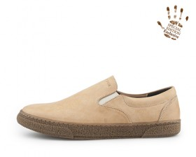 REAL LEATHER SLIP ON-Born