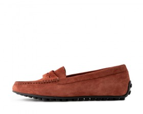 AMERICAN COW SUEDE DRIVING SHOES