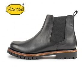LEATHER SOLE CHELSEA BOOTS