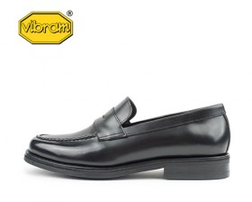 BLACK BOX PENNY LOAFERS